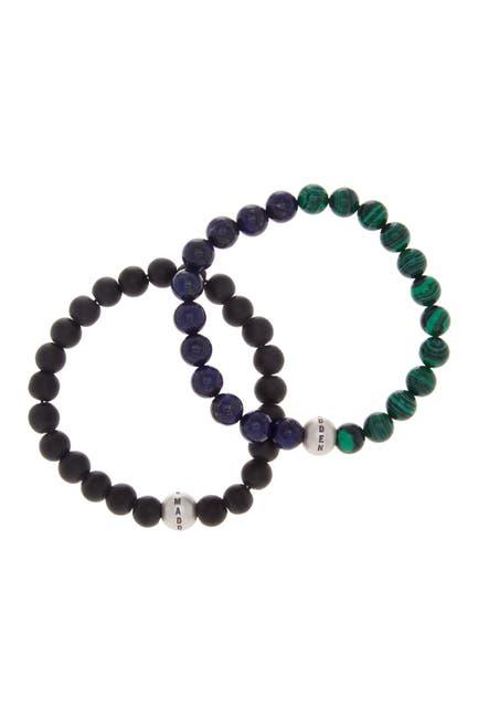 Image of Steve Madden Multi Beaded Bracelet - Set of 2