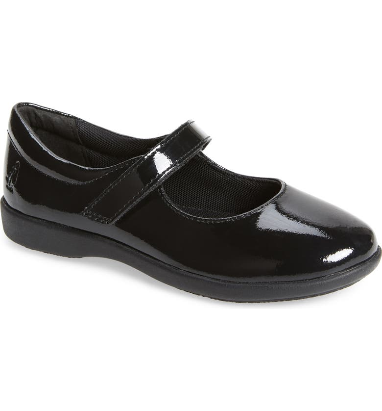 HUSH PUPPIES<SUP>®</SUP> Lexi Mary Jane Flat, Main, color, BLACK PATENT
