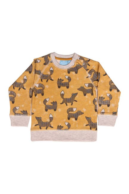 Image of BEAR CAMP Fox Print Pullover Sweatshirt