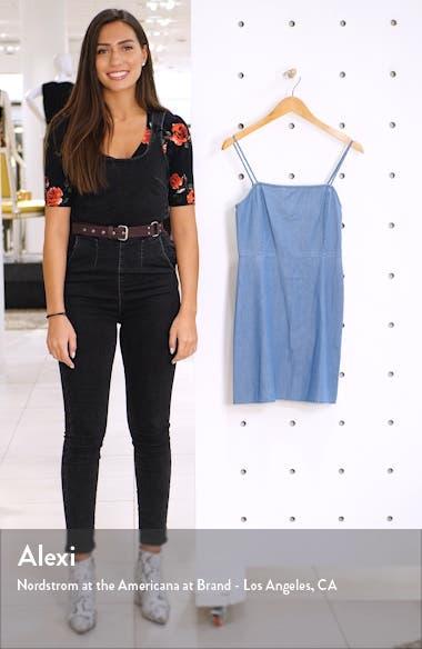 x Claudia Sulewski Chambray Minidress, sales video thumbnail