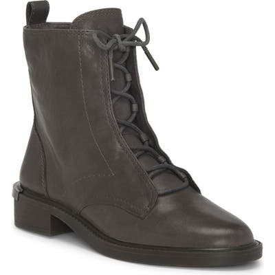 Louise Et Cie Tess Lace-Up Boot- Grey