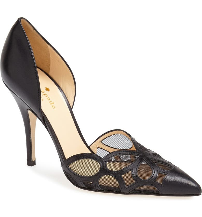 KATE SPADE NEW YORK 'lauretta' pump, Main, color, 001