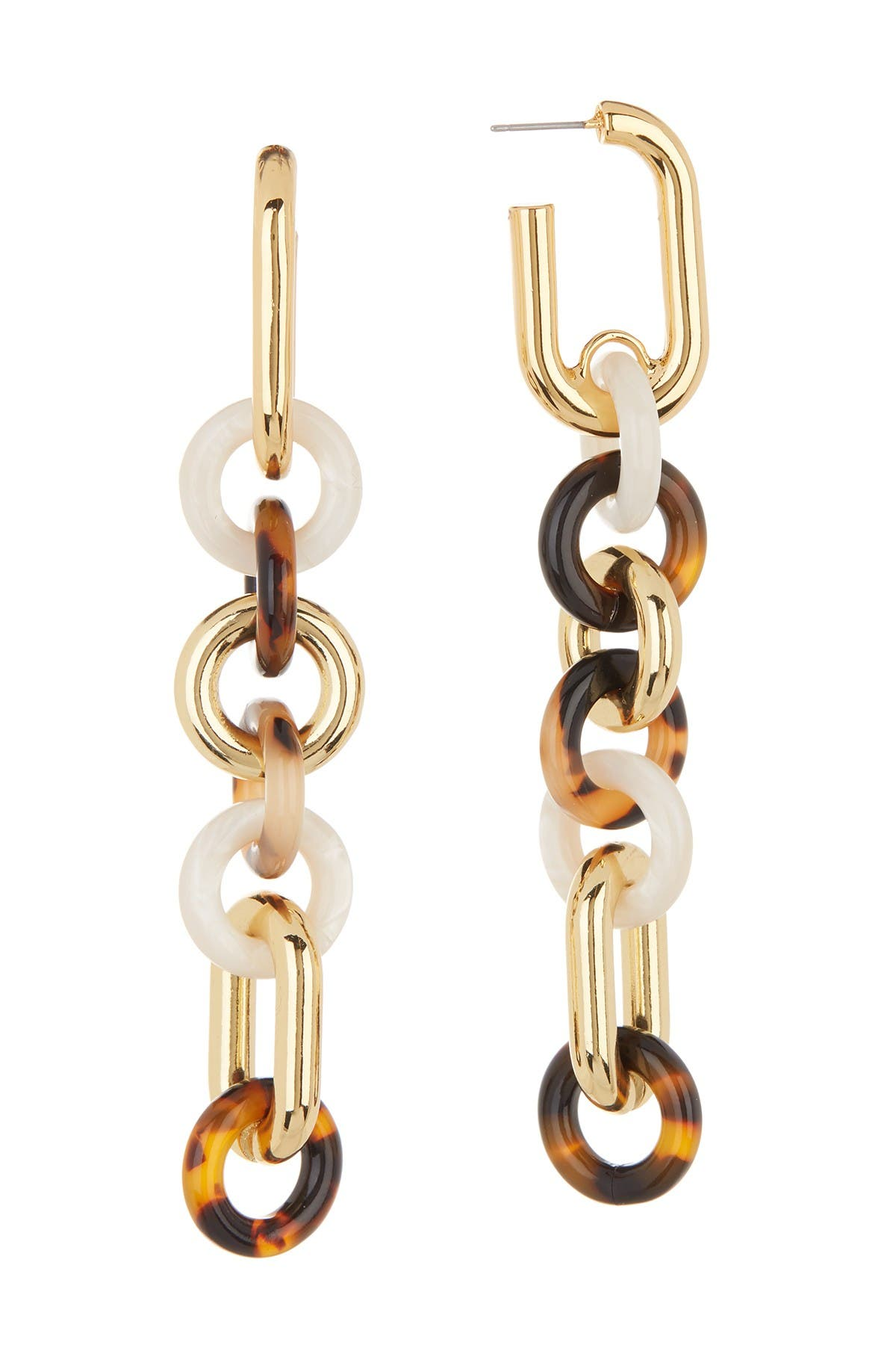Image of BAUBLEBAR Ronell Resin Linked Earrings