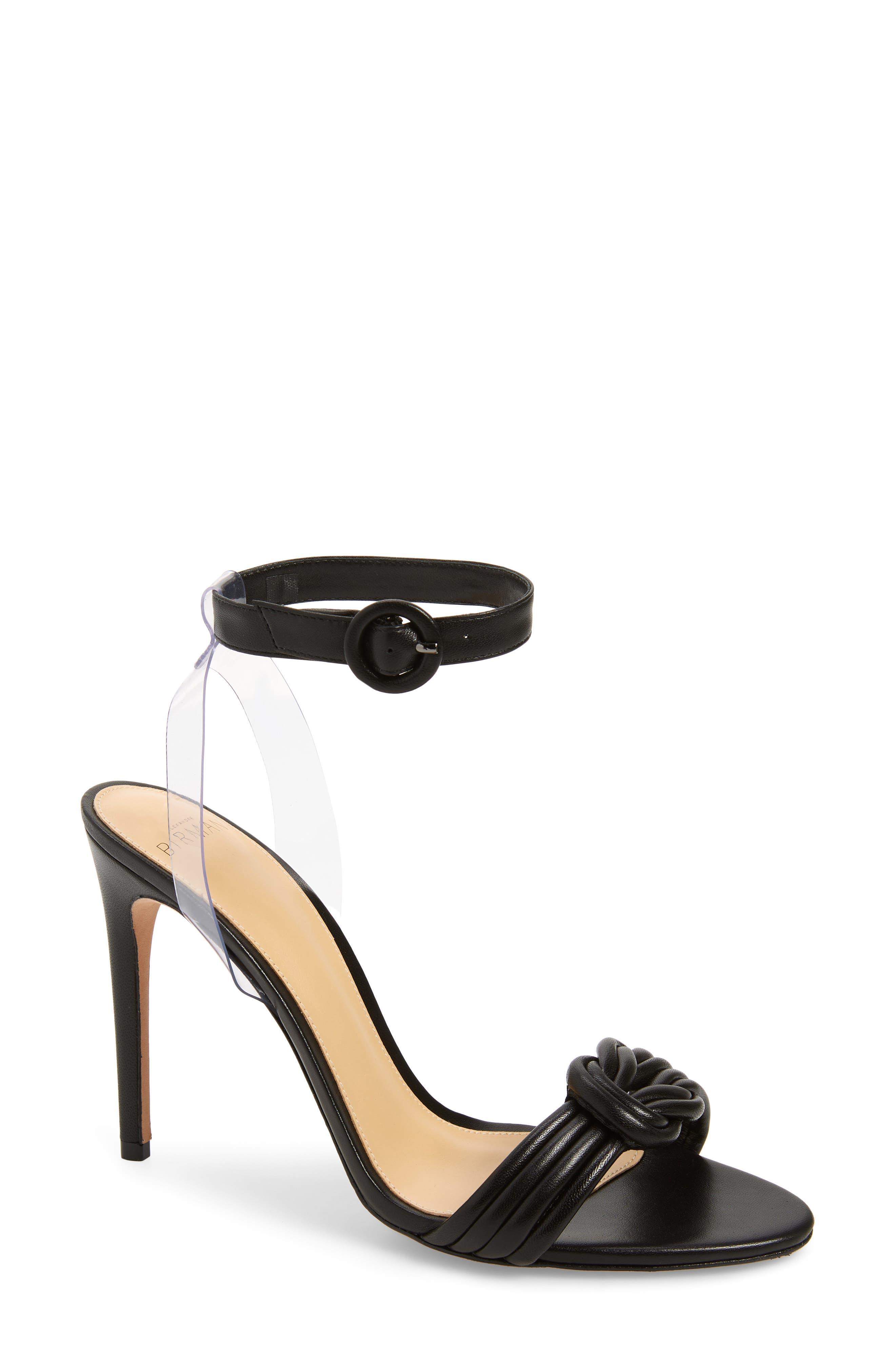 Alexandre Birman Vicky Ankle Strap Sandal, Black