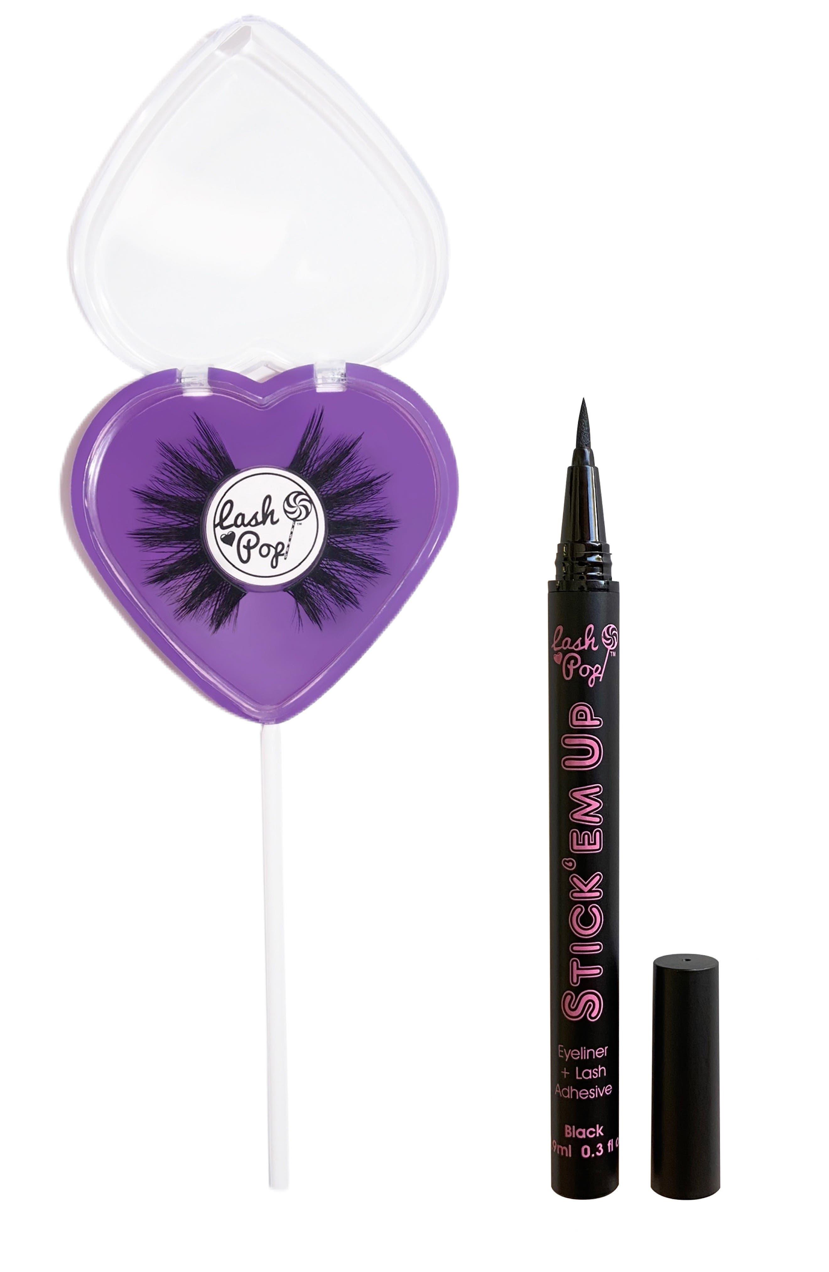 Forever Love False Eyelashes & Stick 'Em Up 2-In-1 Eyeliner & Lash Adhesive Set