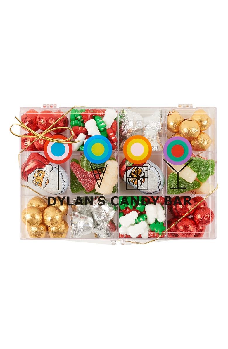 DYLAN'S CANDY BAR Christmas Candy Tackle Box, Main, color, 600