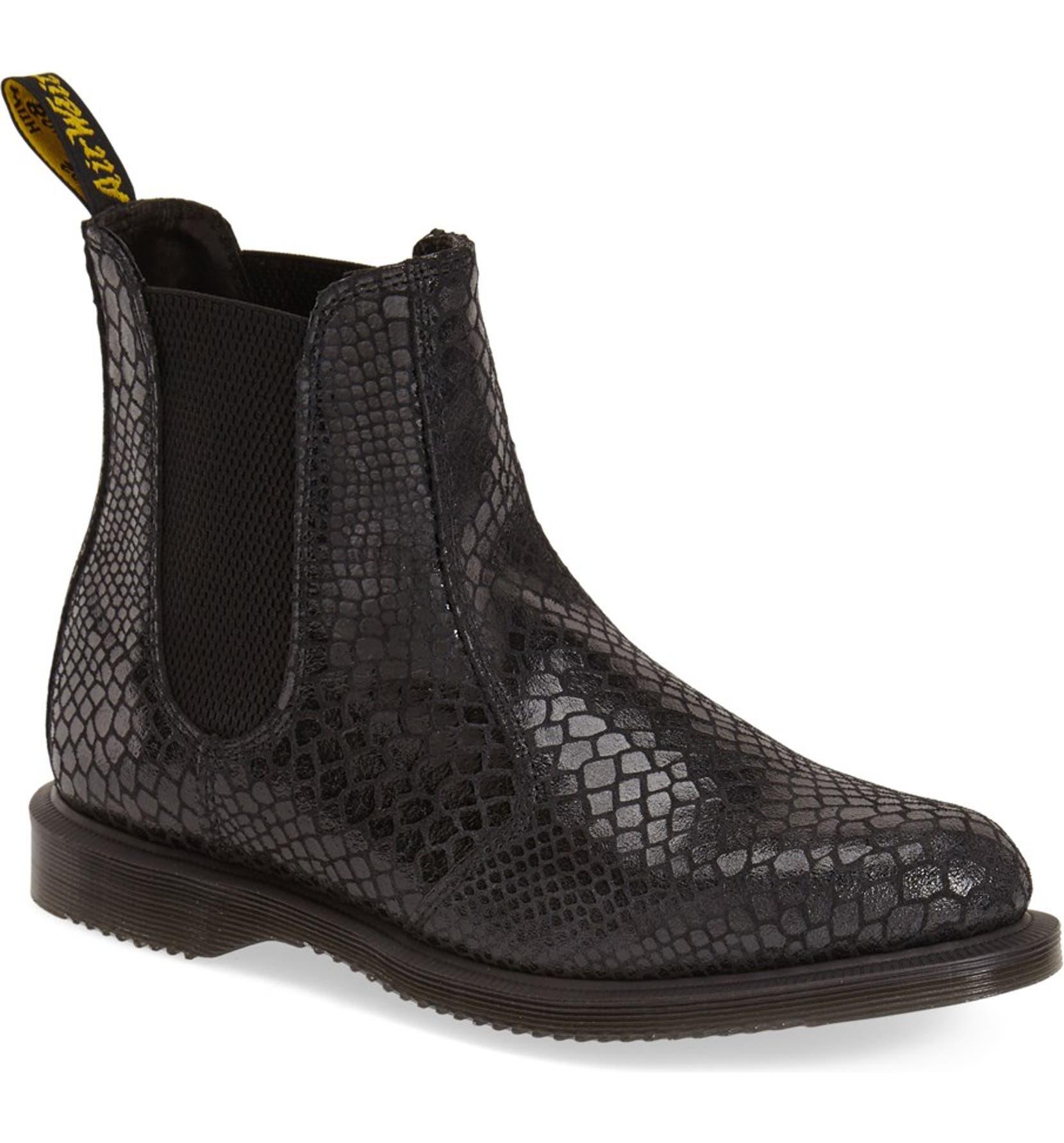 bf8a96d6dac Dr. Martens 'Flora' Chelsea Boot (Women) | Nordstrom