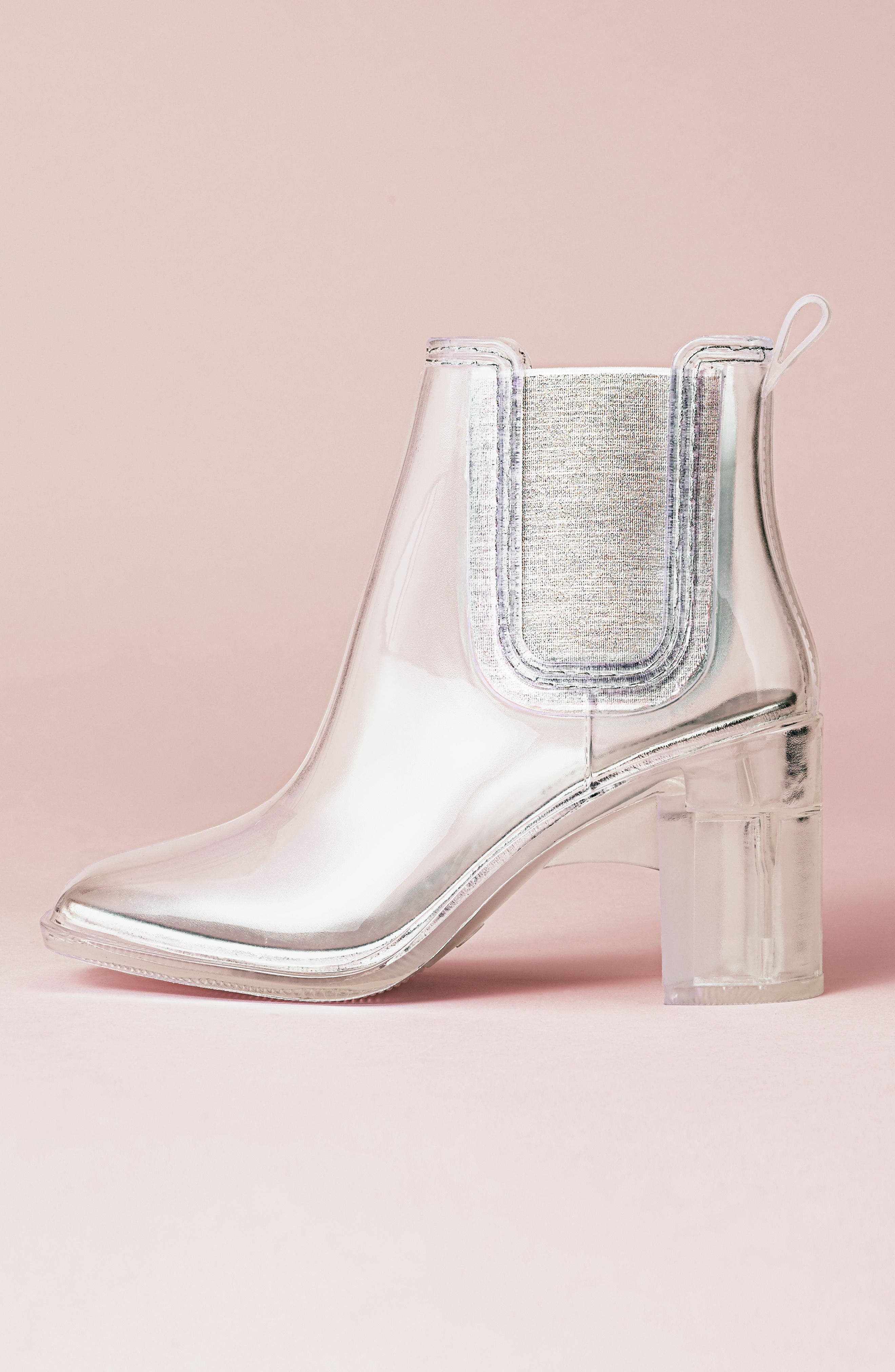 Jeffrey Campbell Hurricane Waterproof Boot, White
