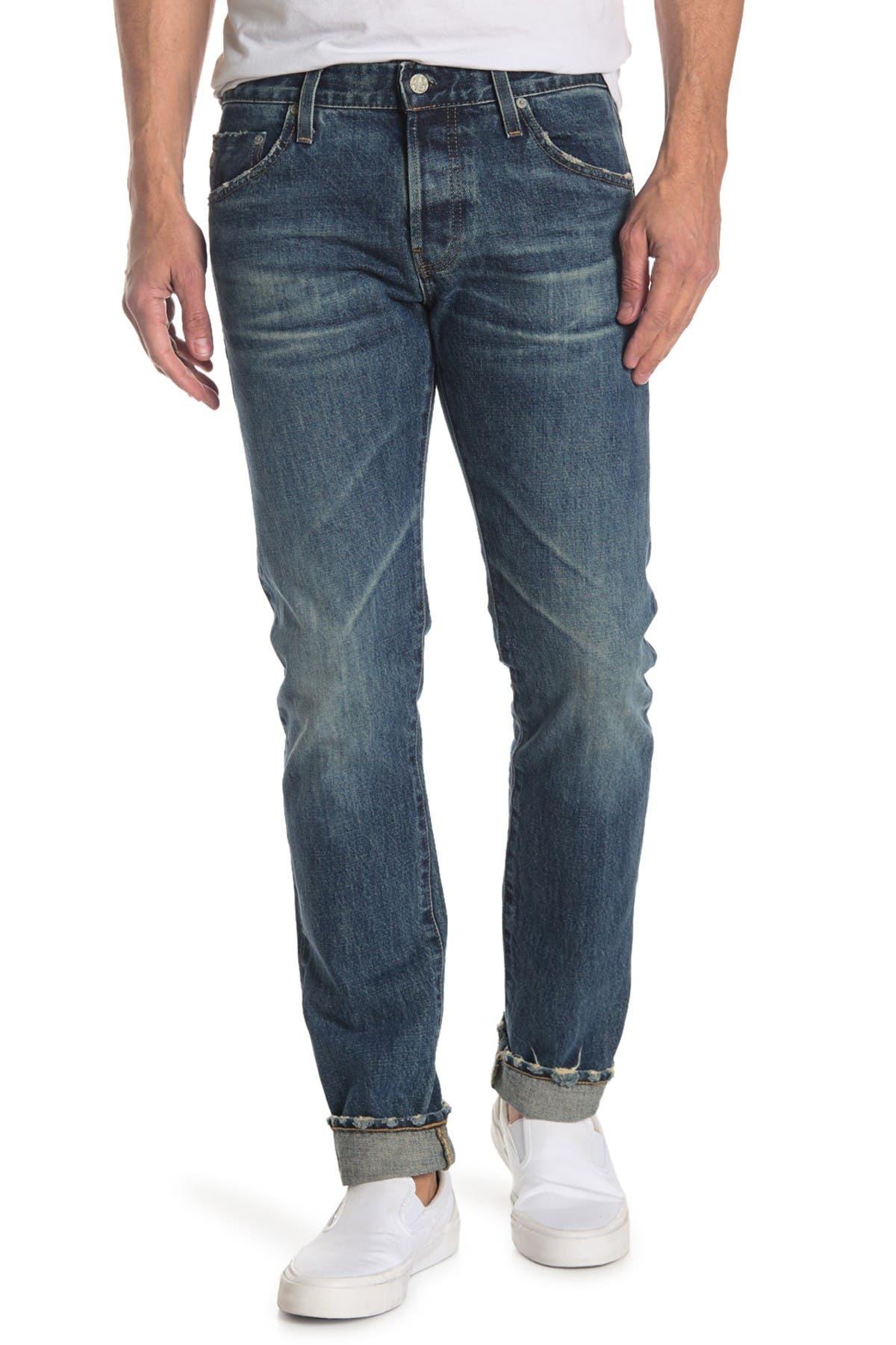 Image of AG Tellis Straight Leg Jeans