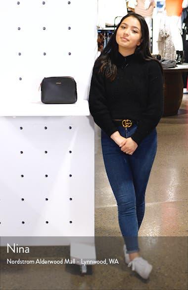 Paris Faux Leather Belt Bag, sales video thumbnail
