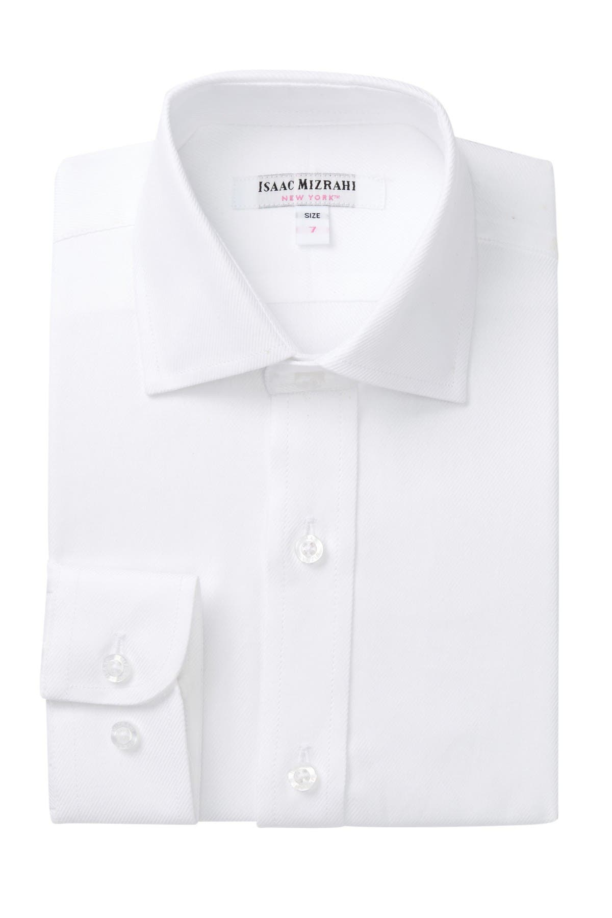 Image of Isaac Mizrahi Fashion Dress Shirt