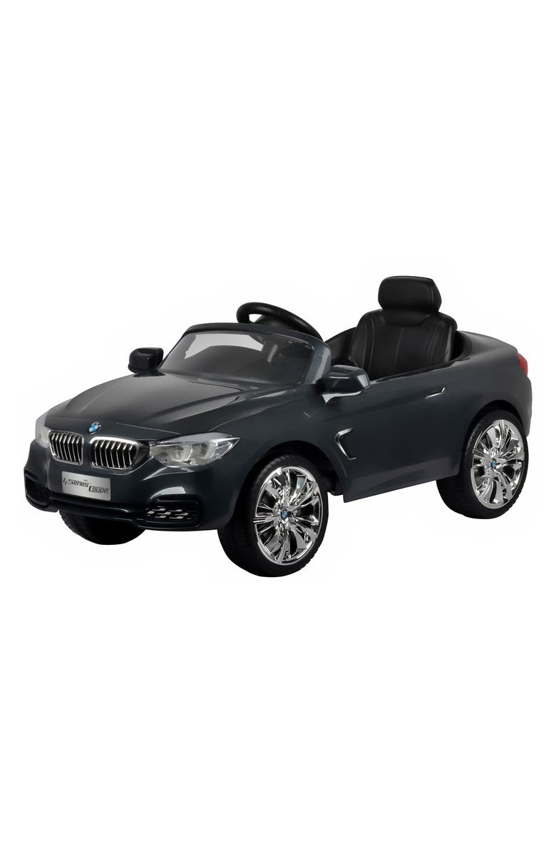 BEST RIDE ON CARS BMW 4 Series Ride-On Toy Car, Main, color, GREY
