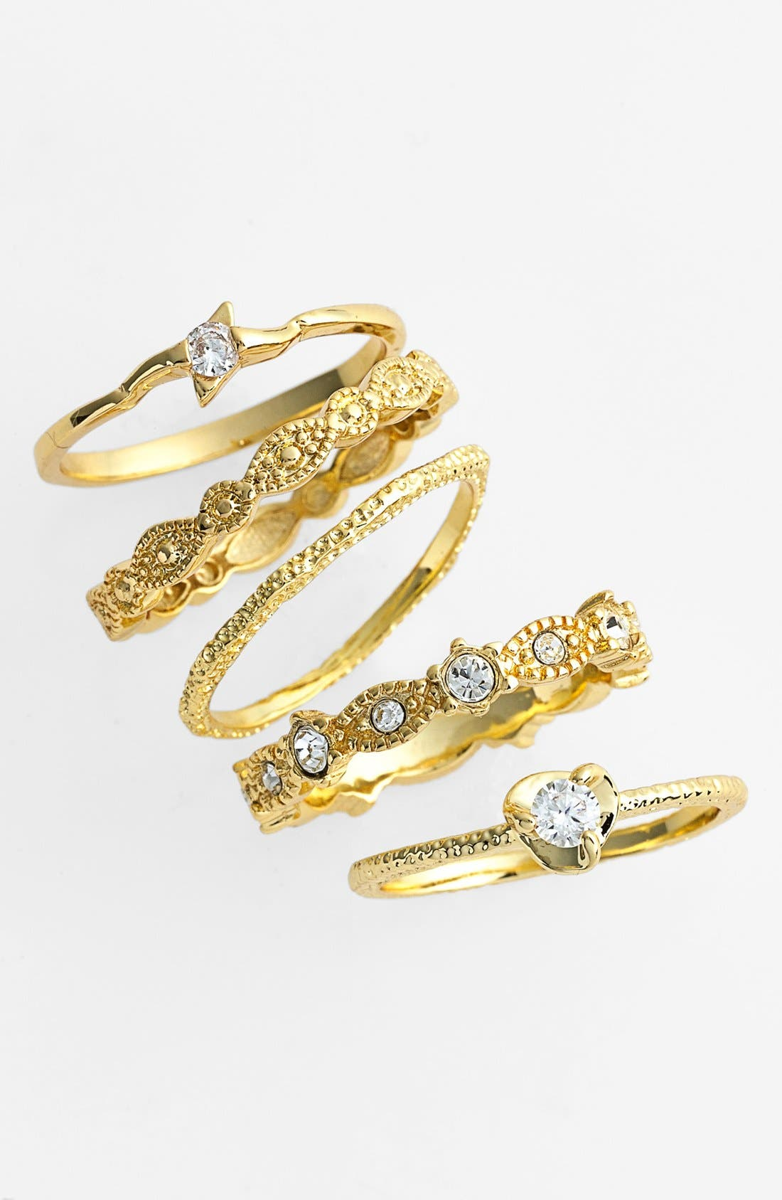 ,                             Stackable Rings,                             Main thumbnail 2, color,                             710