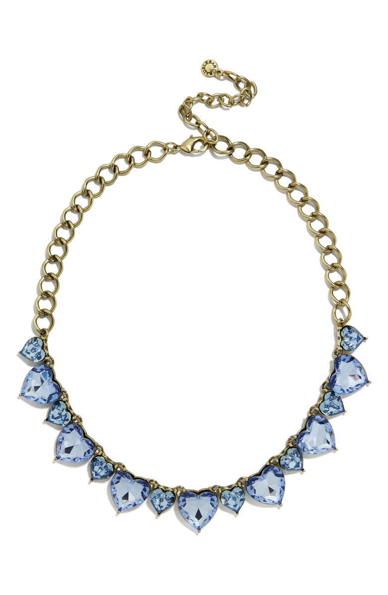 BAUBLEBAR Anelie Statement Necklace, Main, color, BLUE