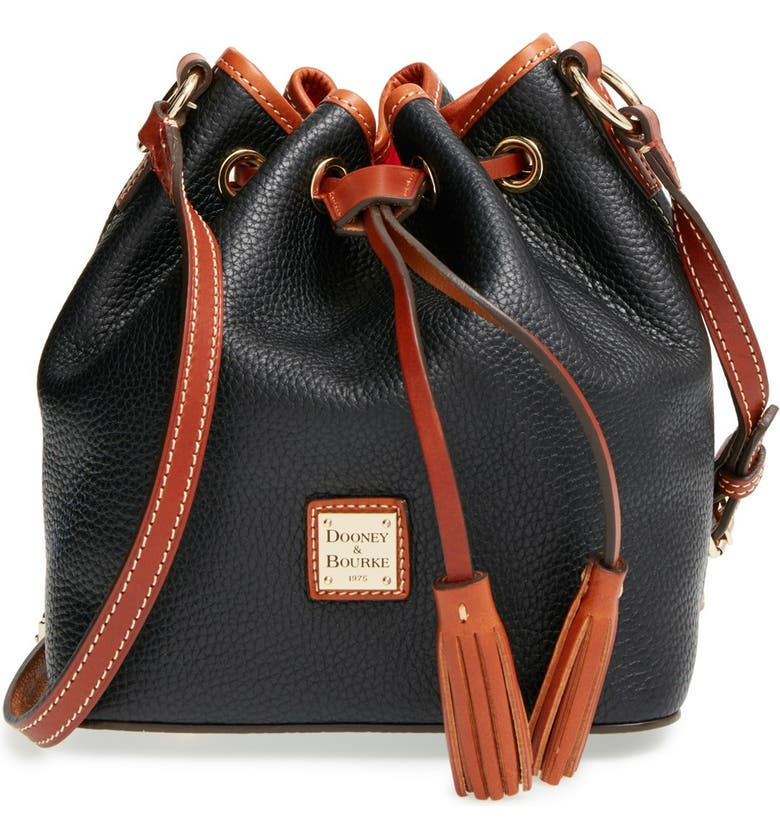 DOONEY & BOURKE Dooney & Bourke 'Kendall' Bucket Bag, Main, color, 001