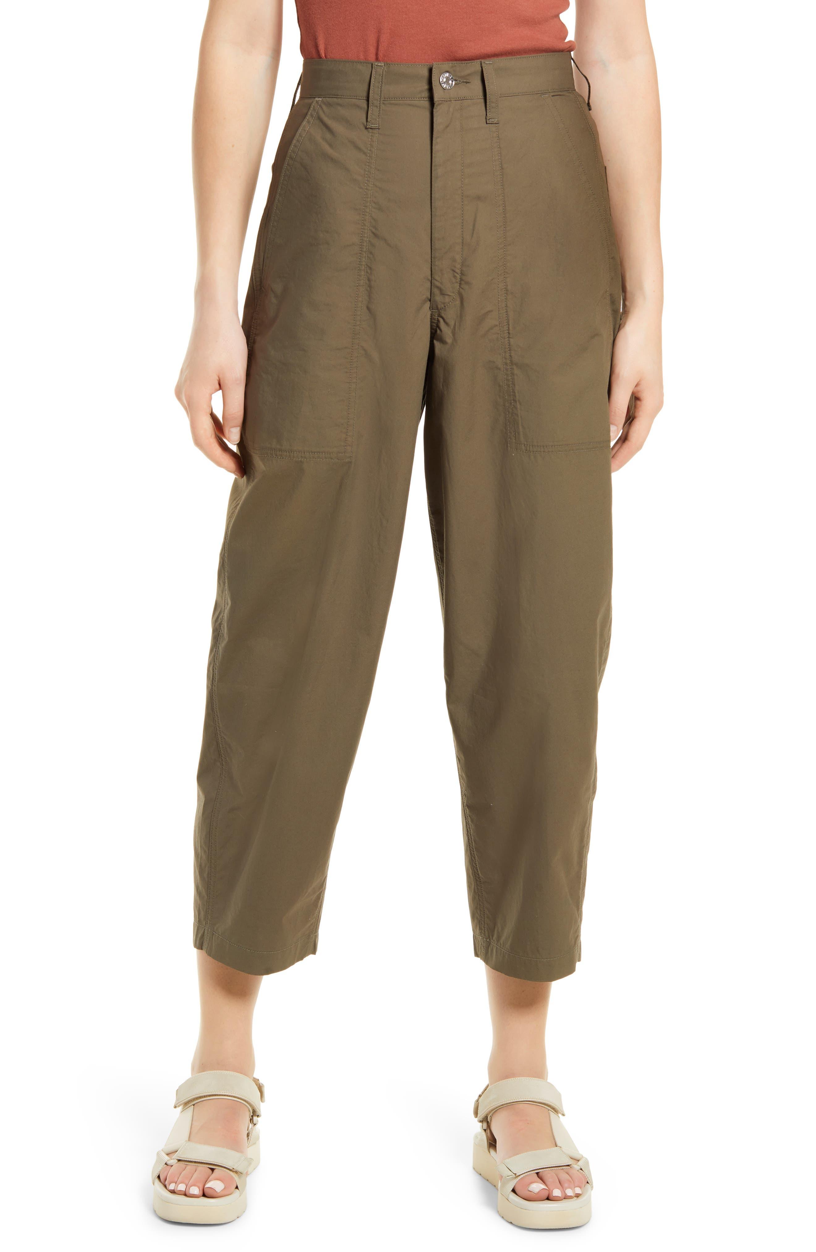 Clio Cotton Poplin Pants