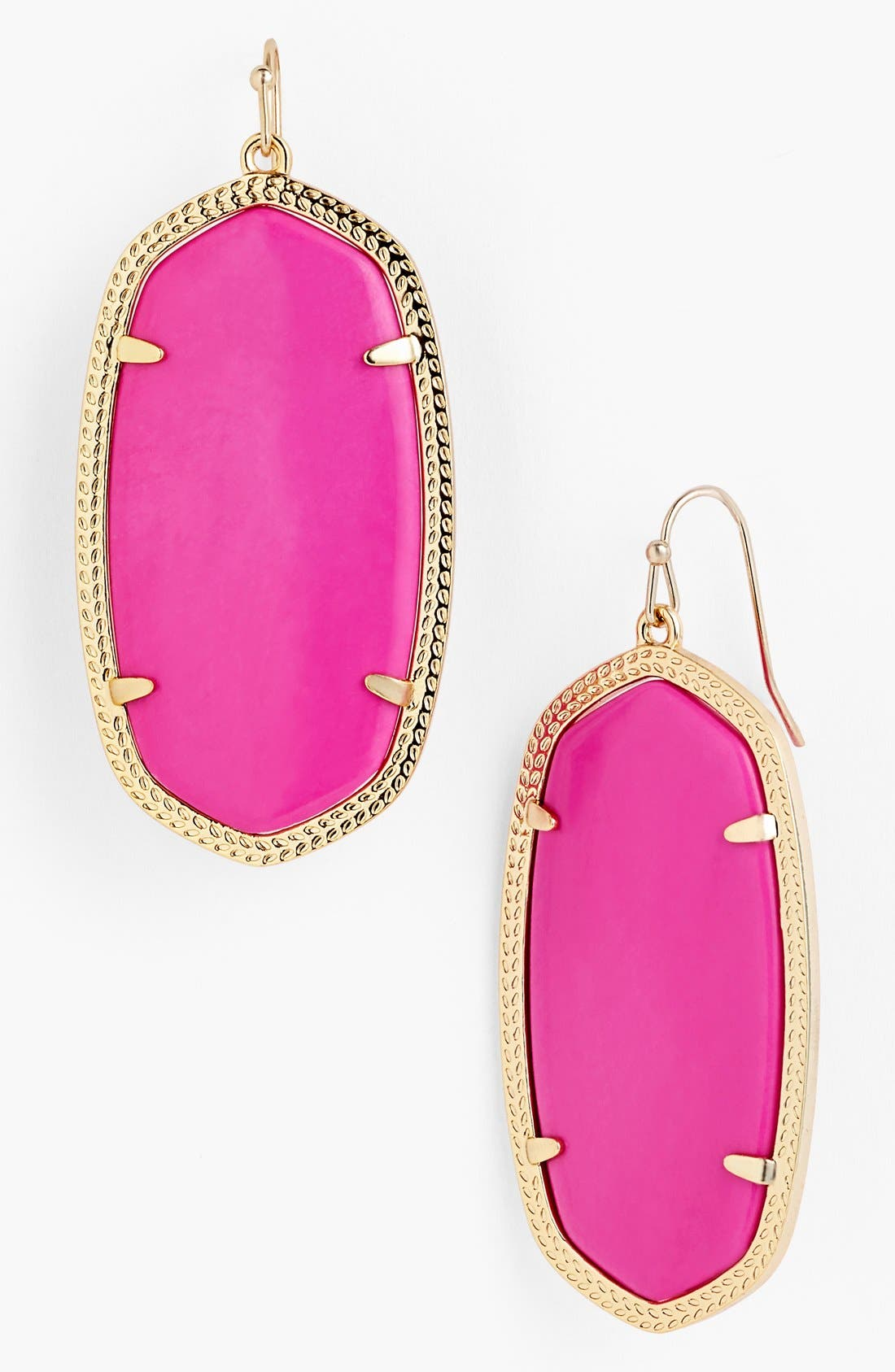 ,                             'Danielle' Oval Statement Earrings,                             Main thumbnail 58, color,                             655