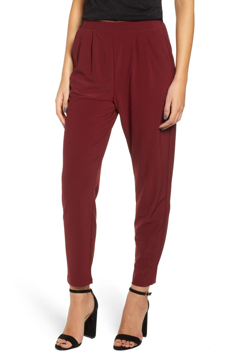 LEITH Pleat Front Trousers, Main, color, 601