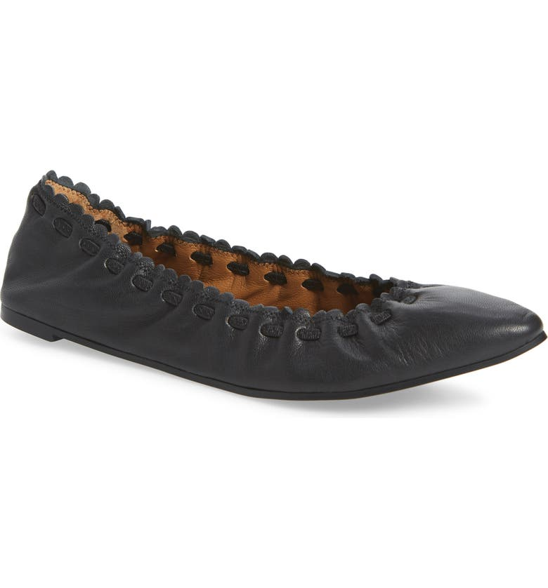 SEE BY CHLOÉ Jane Flat, Main, color, BLACK