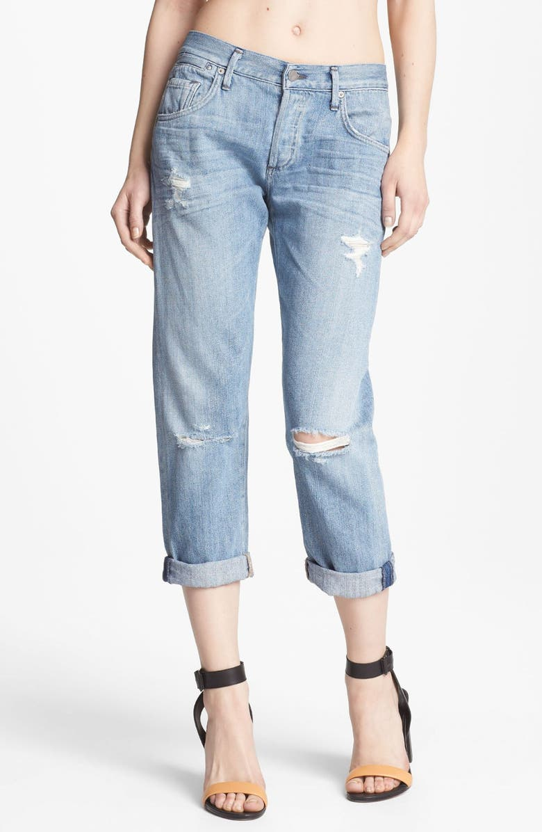CITIZENS OF HUMANITY 'Dylan' Destroyed Loose Fit Jeans, Main, color, 454