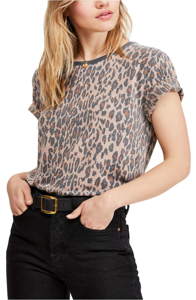 FREE PEOPLE Tourist Tee, Main, color, 019