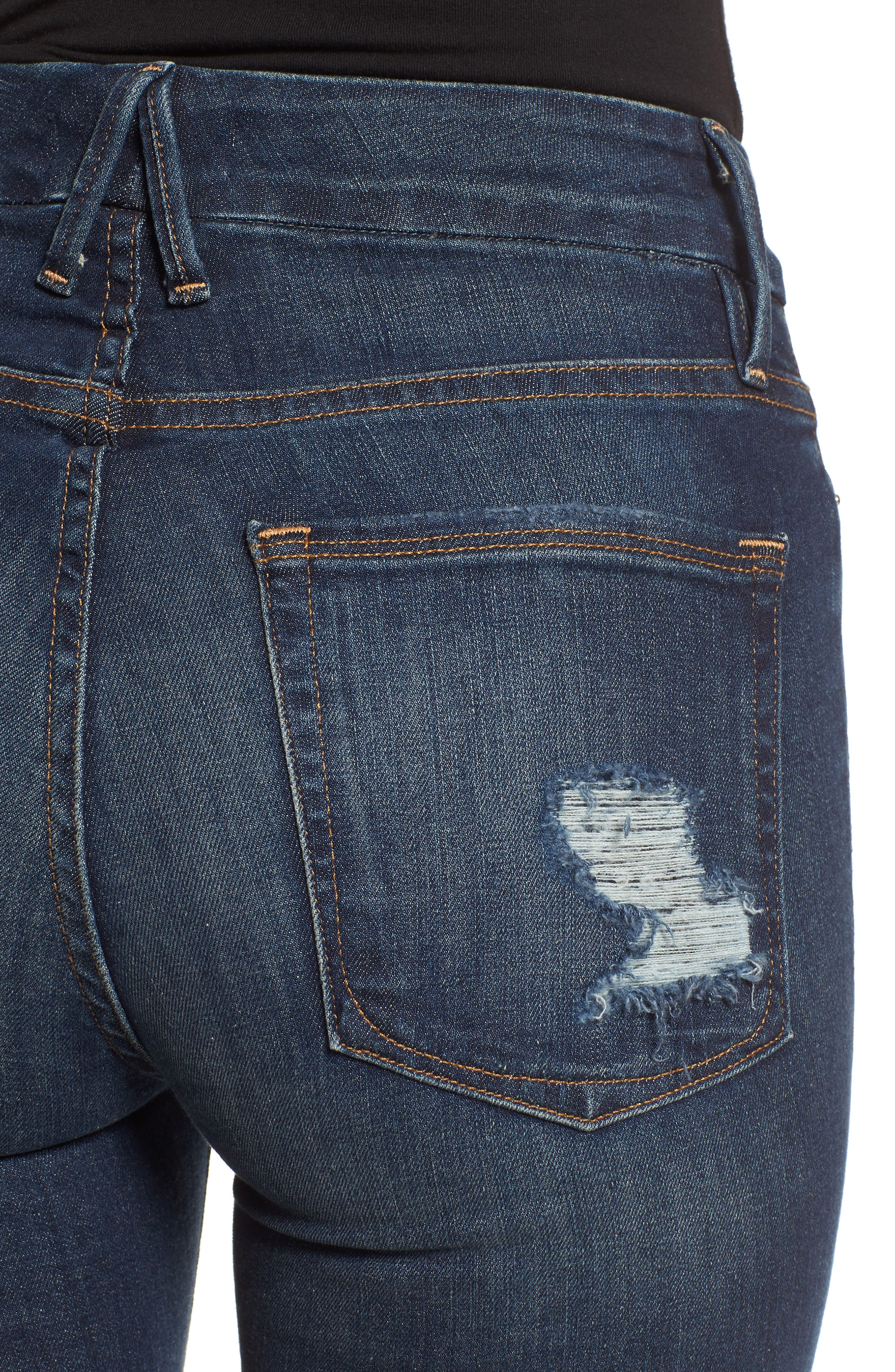,                             Good Legs High Waist Skinny Jeans,                             Alternate thumbnail 16, color,                             403