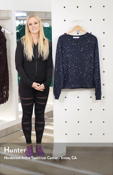 Splatter Paint Sweatshirt, sales video thumbnail