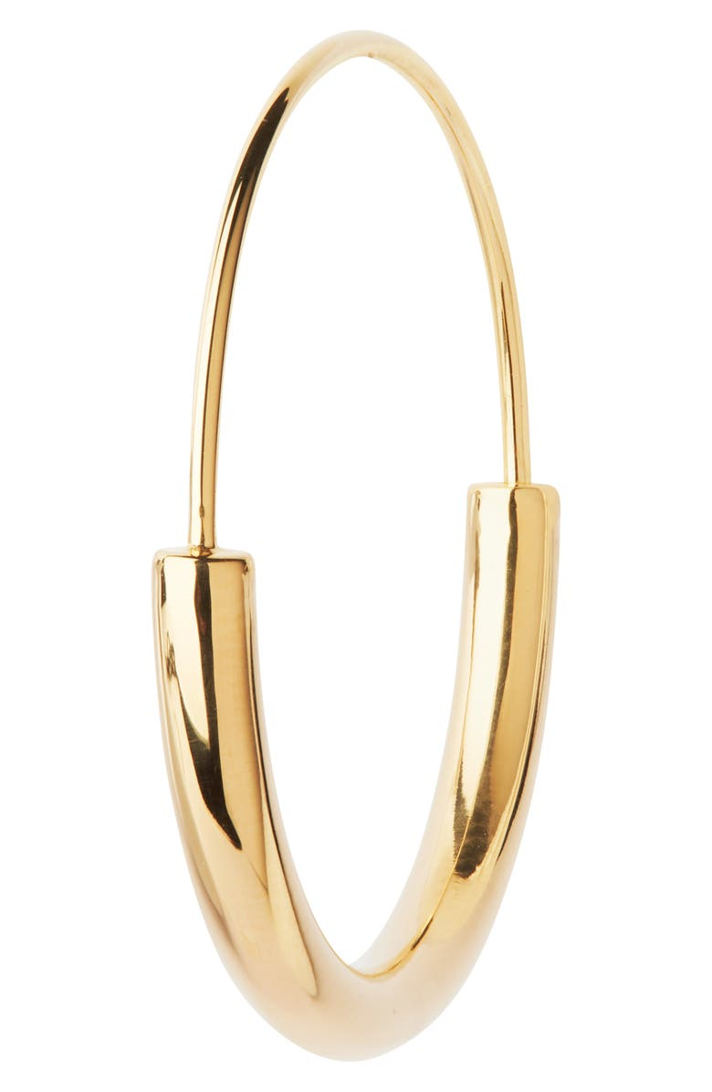 MARIA BLACK Classic Serendipity Hoop Earring, Main, color, HIGH POLISHED GOLD