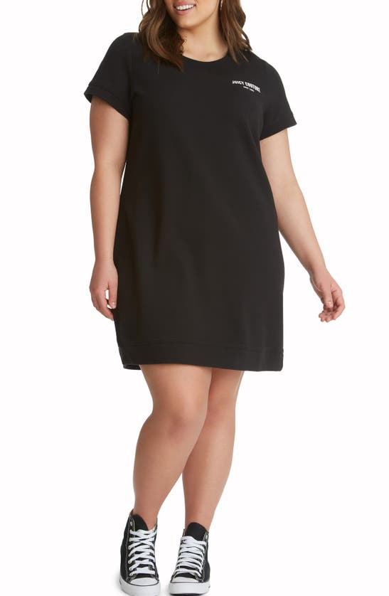 Juicy Couture COTTON T-SHIRT DRESS