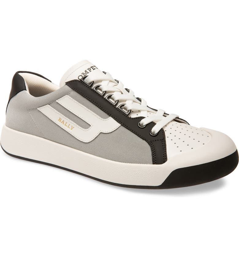BALLY New Competition Sneaker, Main, color, WHITE/ GREY