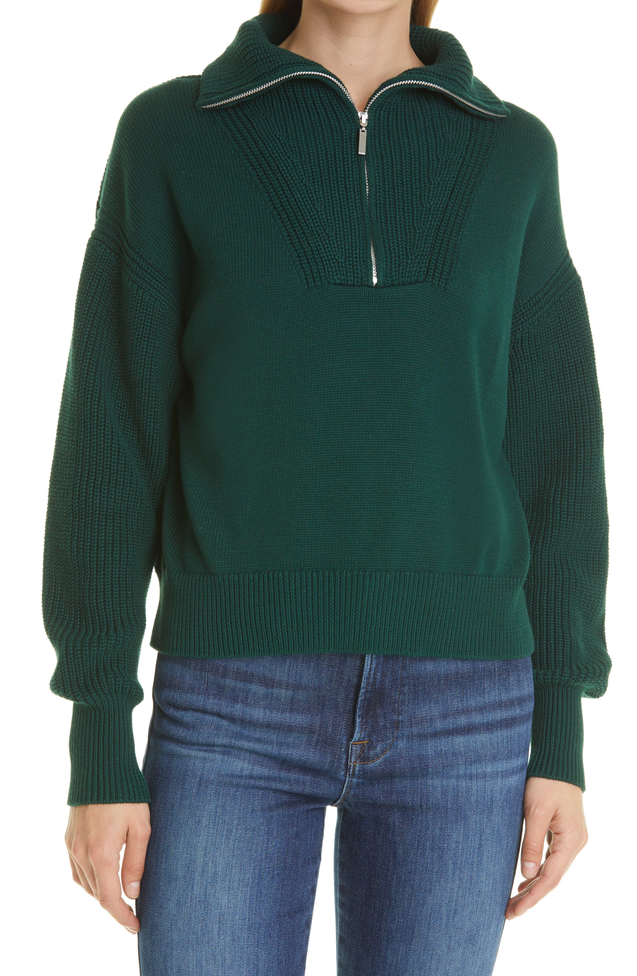 Bastien Half-Zip Cotton Sweater