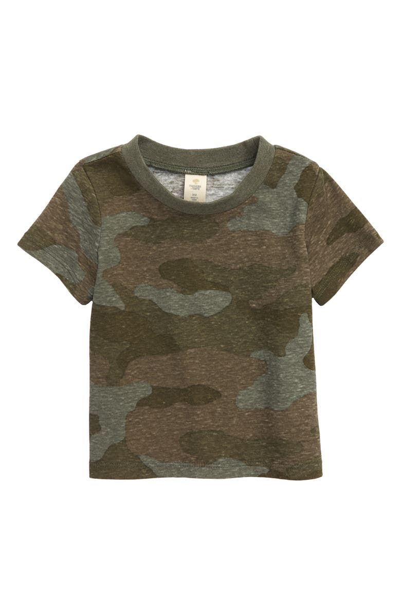 TUCKER + TATE Graphic Tee, Main, color, OLIVE BROWN CAMO