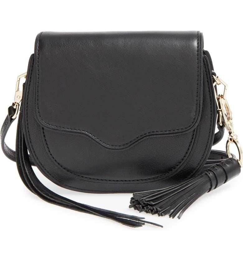 REBECCA MINKOFF 'Mini Suki' Crossbody Bag, Main, color, 001