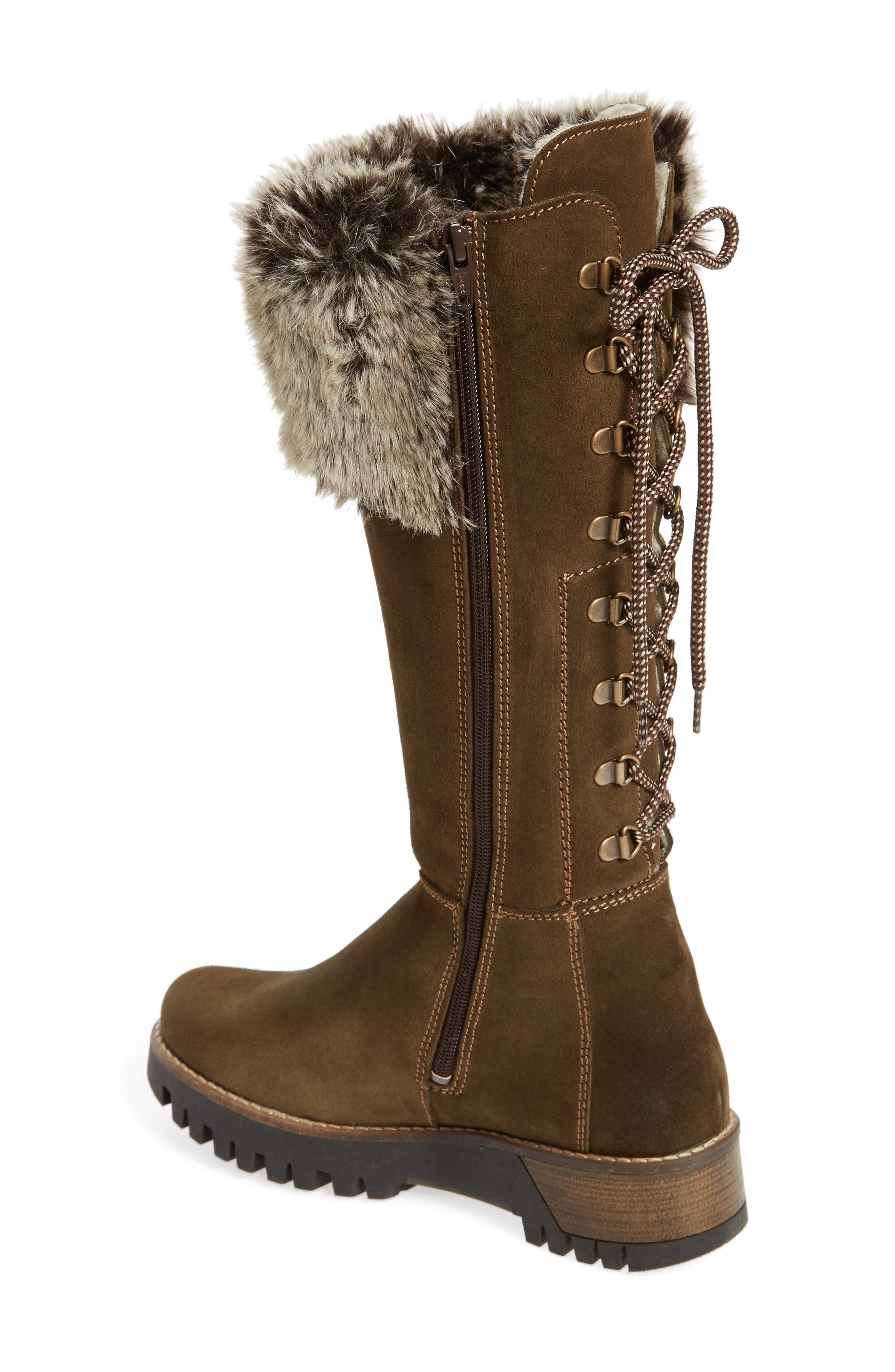 ,                             Graham Waterproof Winter Boot with Faux Fur Cuff,                             Alternate thumbnail 14, color,                             300