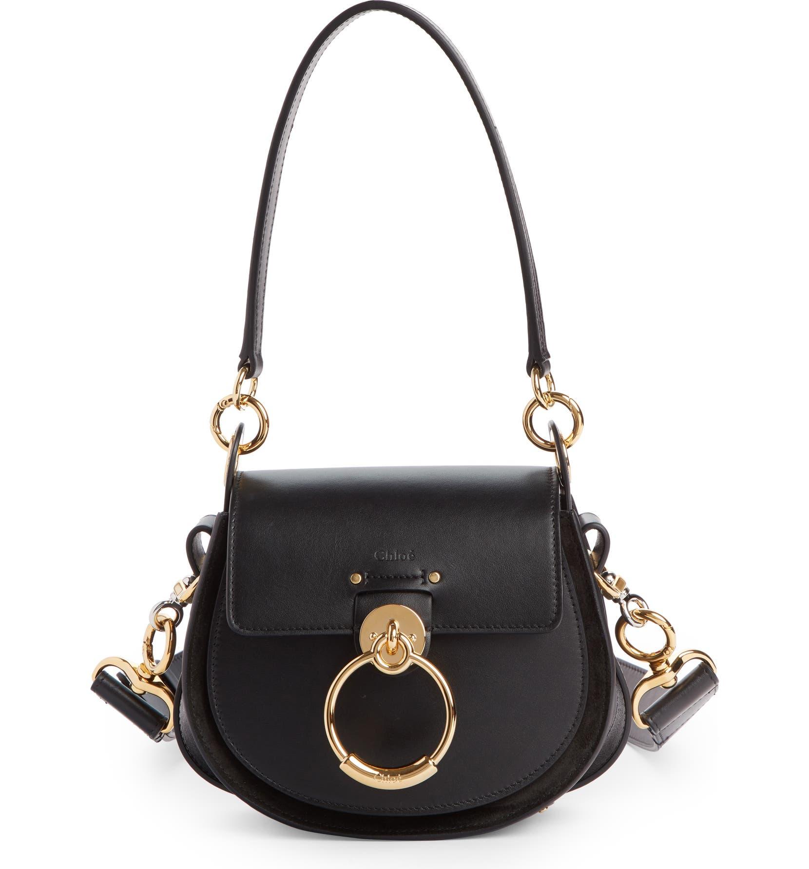 2f2d0dbe Small Tess Calfskin Leather Shoulder Bag