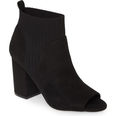 Bp. Trice Peep Toe Bootie, Black