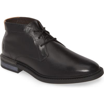 Hush Puppies Davis Chukka Boot, Black