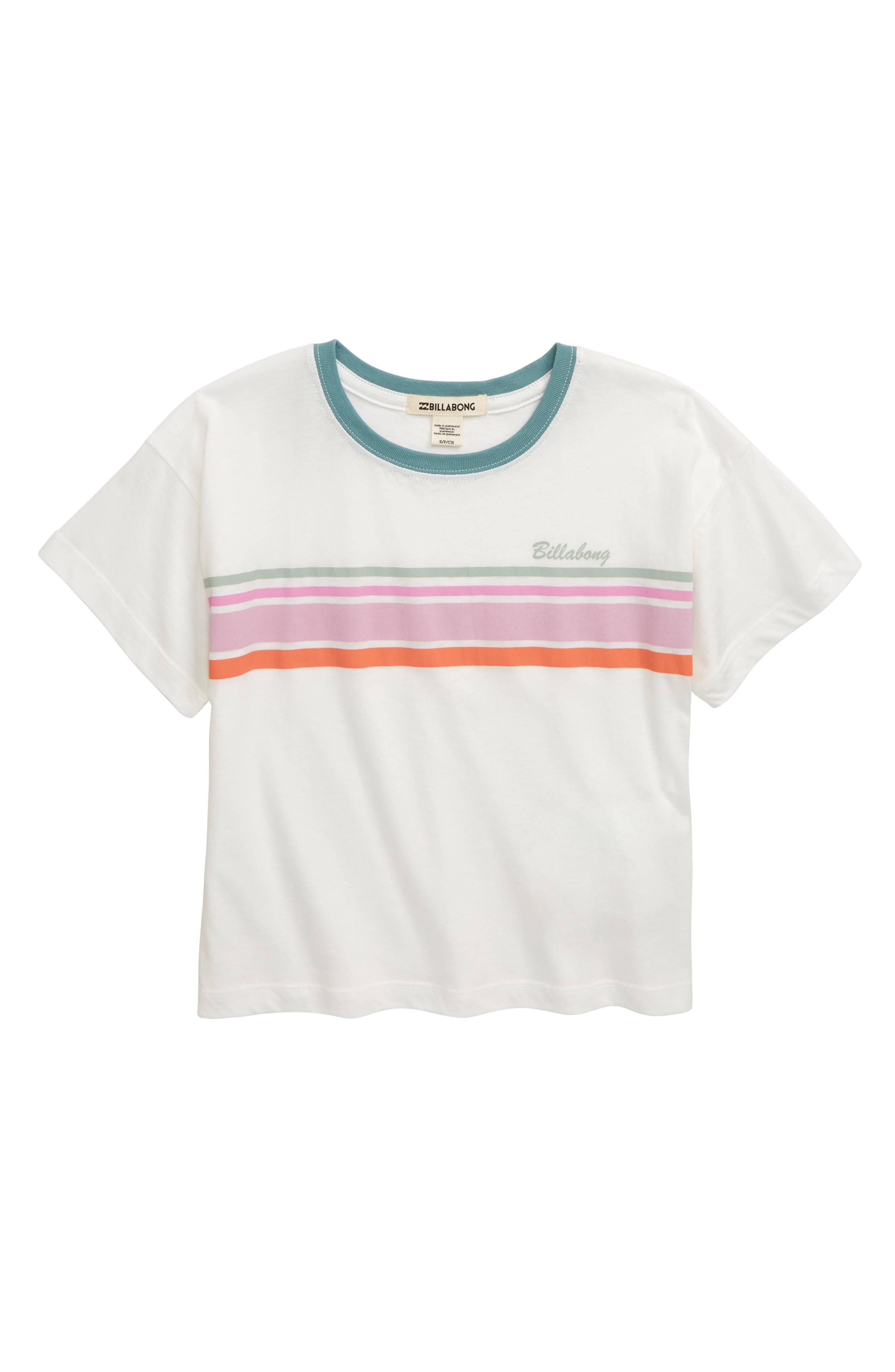 Girls Billabong Seeing Stripes Tee