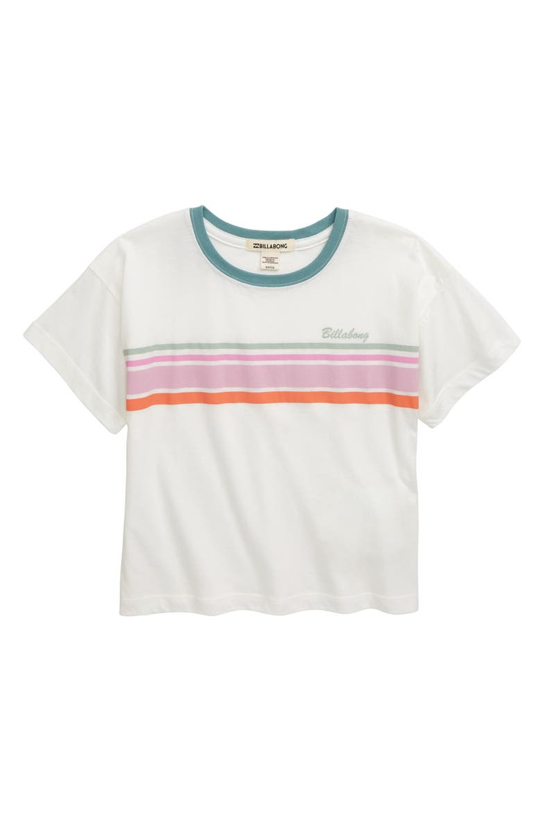 BILLABONG Seeing Stripes Tee, Main, color, COOL WIP