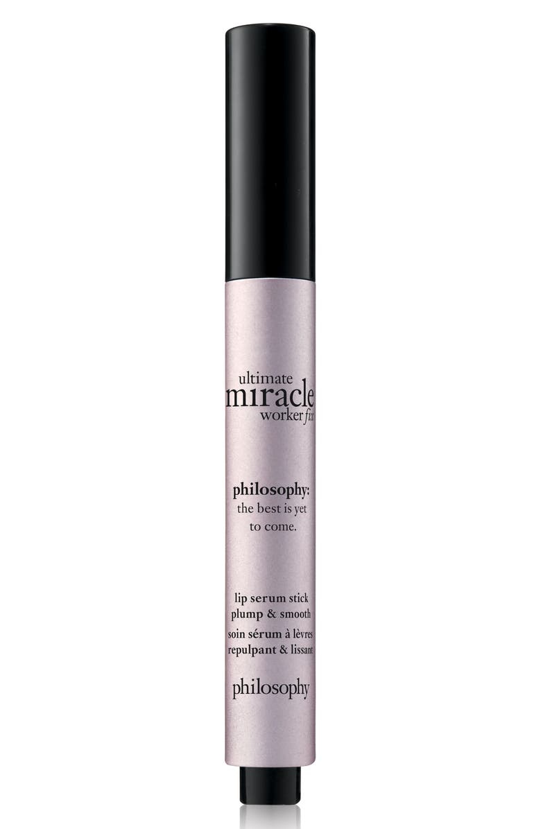 PHILOSOPHY ultimate miracle worker lip fix, Main, color, NO COLOR