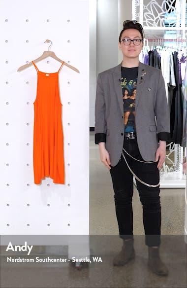 High Neck Ribbed Minidress, sales video thumbnail