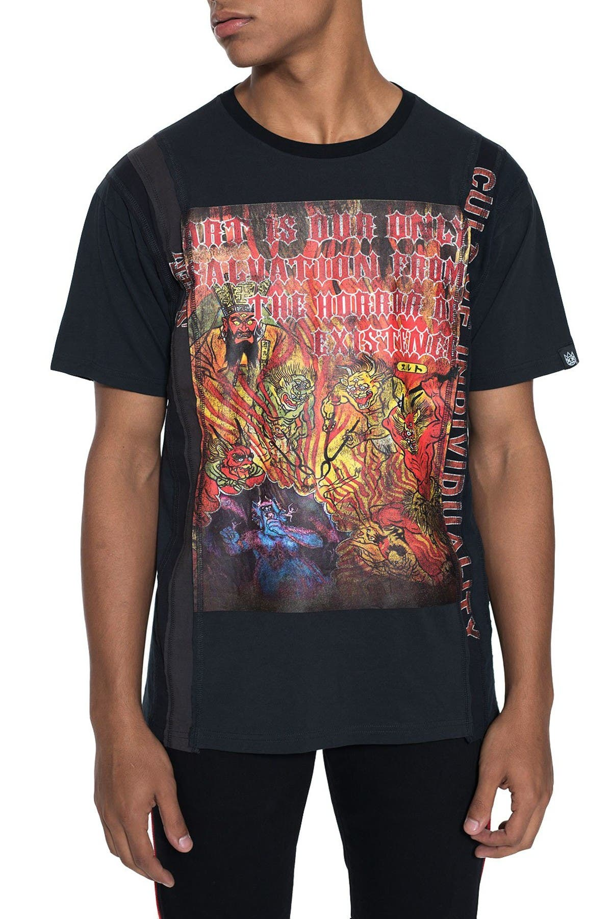 Image of Cult Of Individuality Spiff TV World Tour Graphic T-Shirt