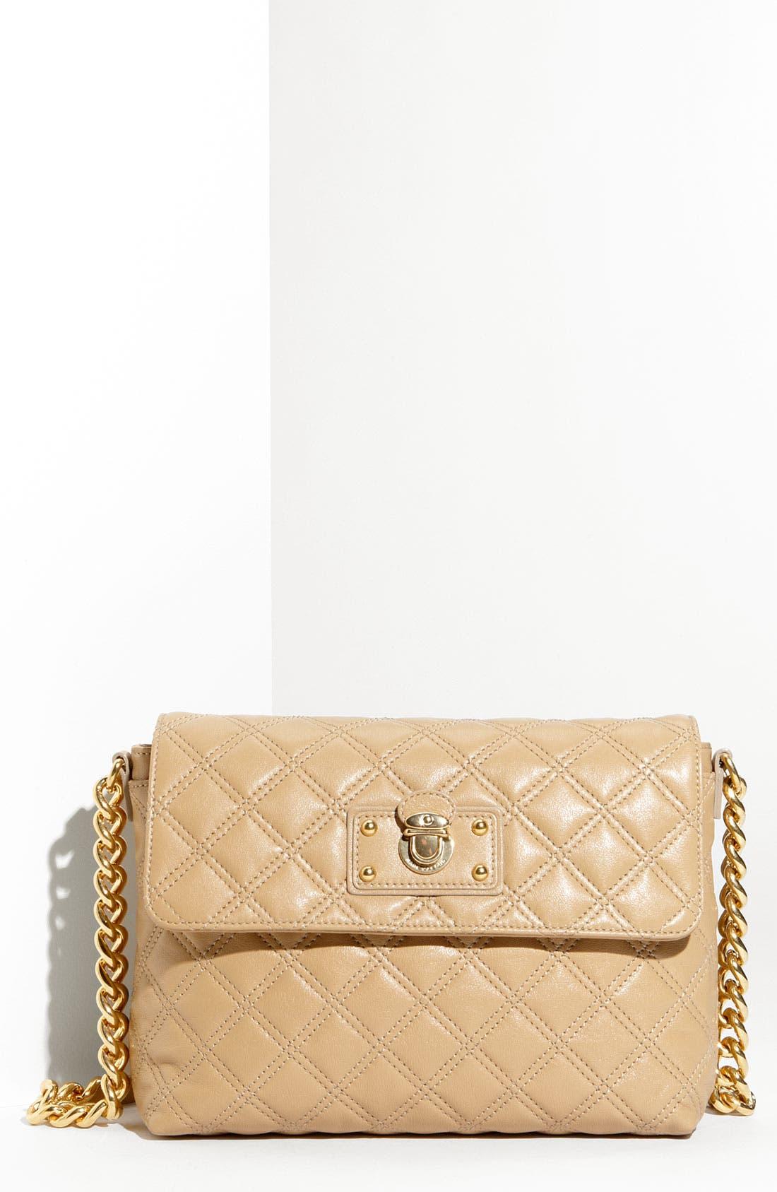 ,                             'Large Quilting Single' Leather Shoulder Bag,                             Main thumbnail 26, color,                             255