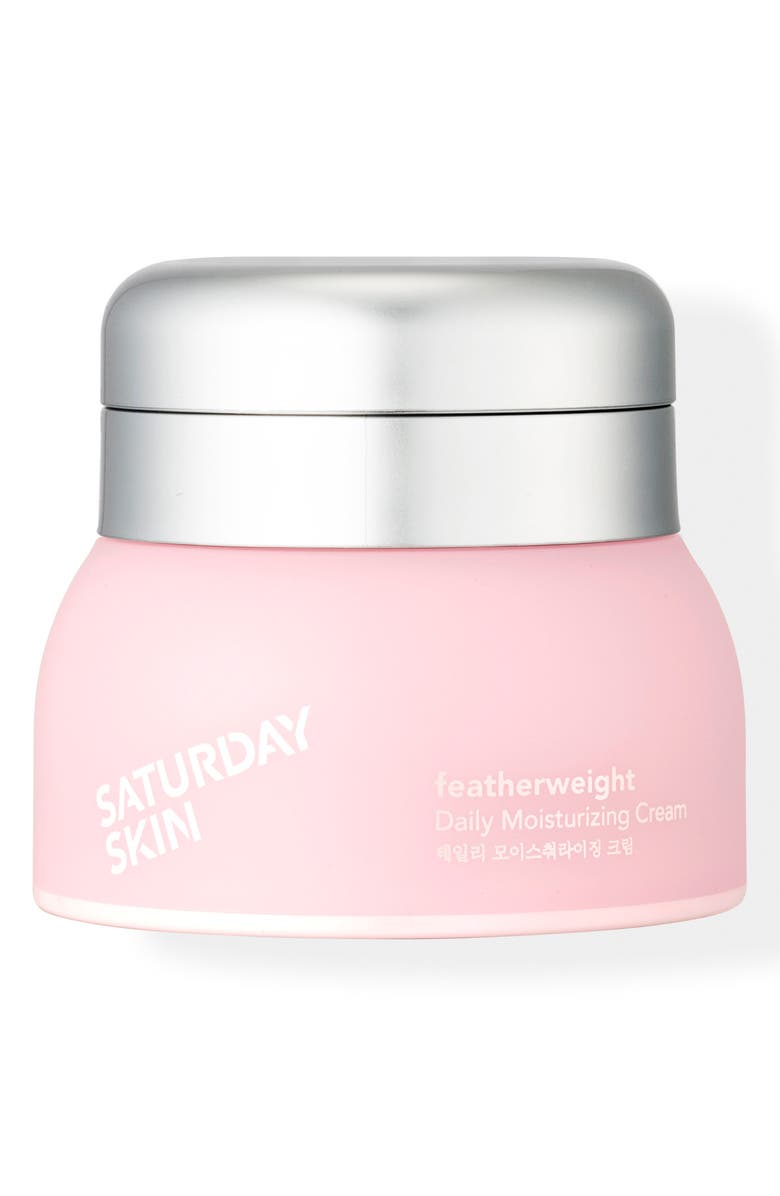SATURDAY SKIN Featherweight Daily Moisturizing Cream, Main, color, 000