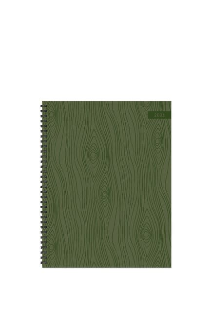 Image of TF Publishing 2021 Wooden Plans Large Weekly Monthly Planner