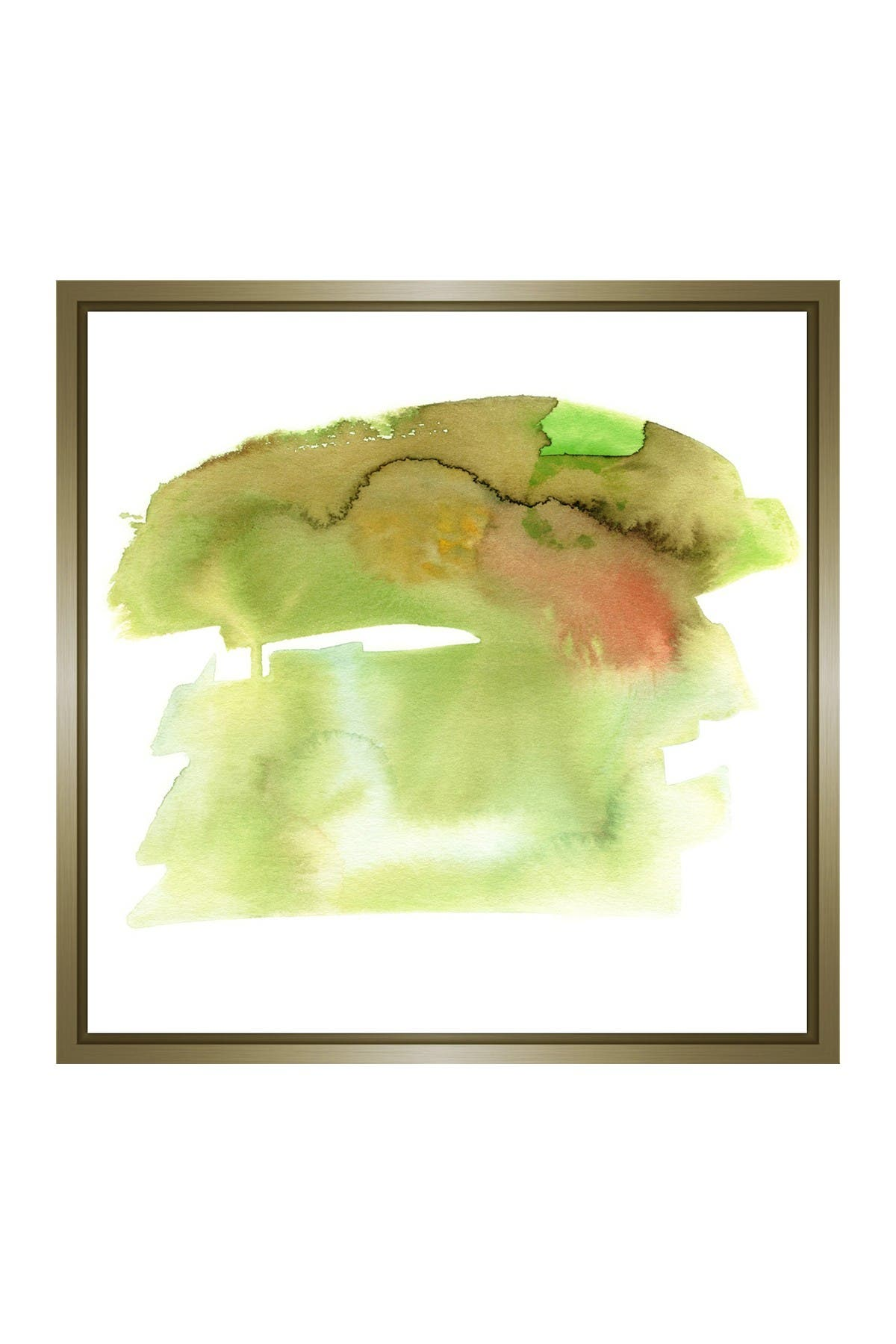 Image of PTM Images Green Drops II Gallery Wrapped Giclee Print
