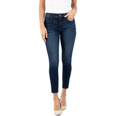 Kut From The Kloth Connie Fab Ab High Waist Ankle Skinny Jeans, Blue