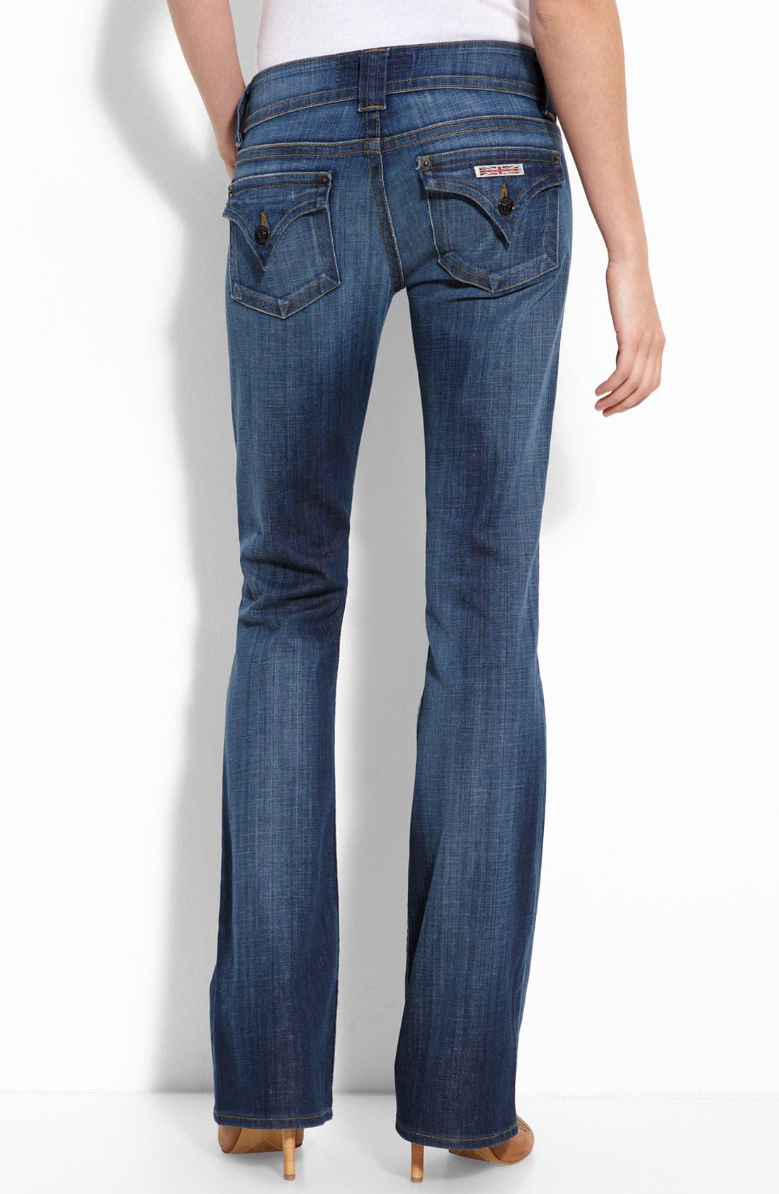 ,                             Signature Flap Pocket Bootcut Jeans,                             Alternate thumbnail 69, color,                             471