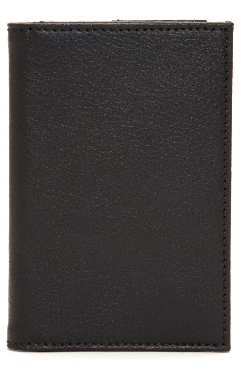 WOLF Howard Passport Case, Main, color, BLACK