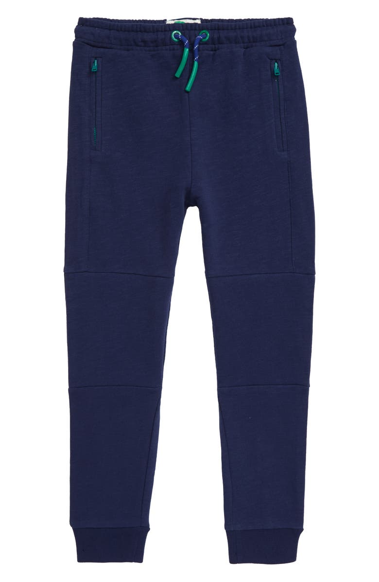 MINI BODEN Warrior Knee Jogger Pants, Main, color, COLLEGE BLUE